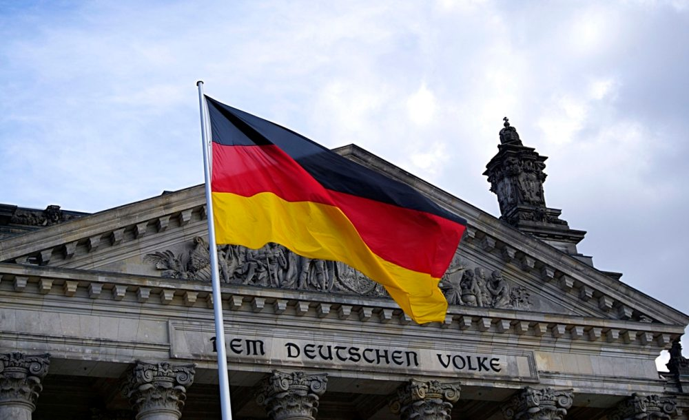Germany German Flag Berlin Building Colors